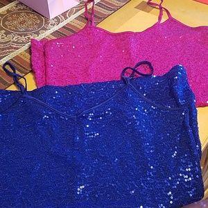Shimmer camis